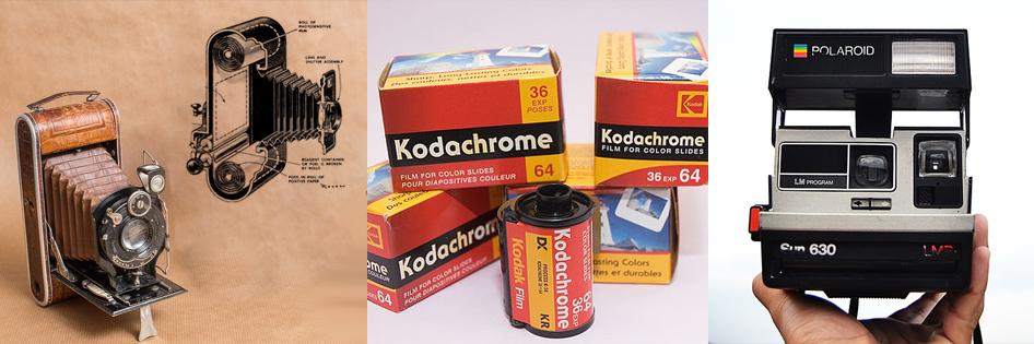 Kodak y Polaroid - La Era comercial de la fotografía.