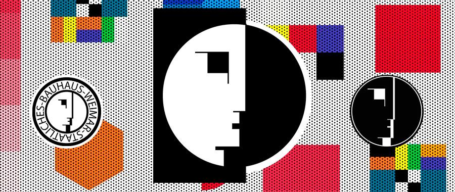 Logo de la escuela de diseño Bauhaus