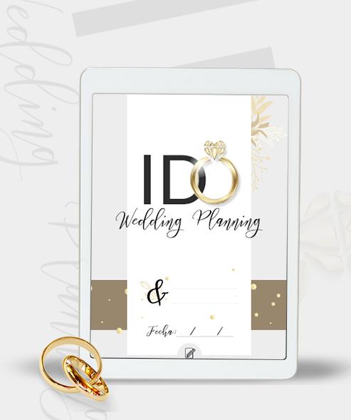PDF interactivo Para Planificación de Bodas I-DO Stories