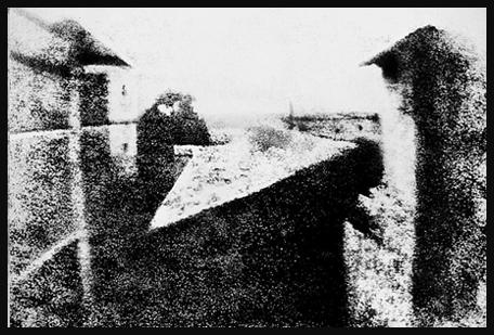 Primera Fotografía de la historia - Niepce 1826