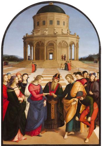 Los Desposorios de la Virgen - Rafael