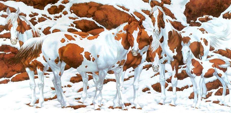 Gestalt ¿Cuantos caballos puedes ver?