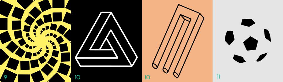 La Gestalt - Principios de continuidad, buena forma, simplicidad.