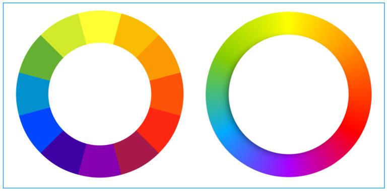 circulo cromático - tonalidad o matiz