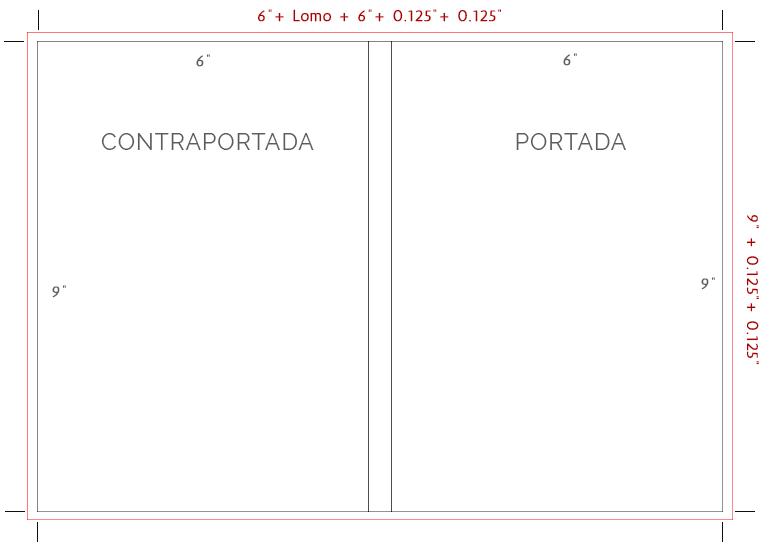 Ejemplo de Cubierta de Libro Amazon KDP
