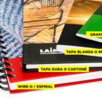 Tipos de encuadernación, para el diseño de cubiertas de Libros