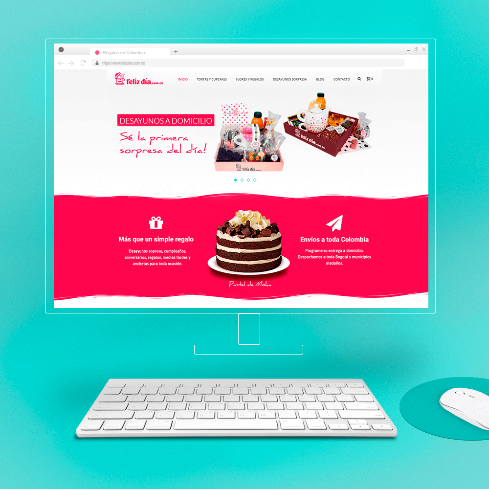 Website Design - Mockup & Template