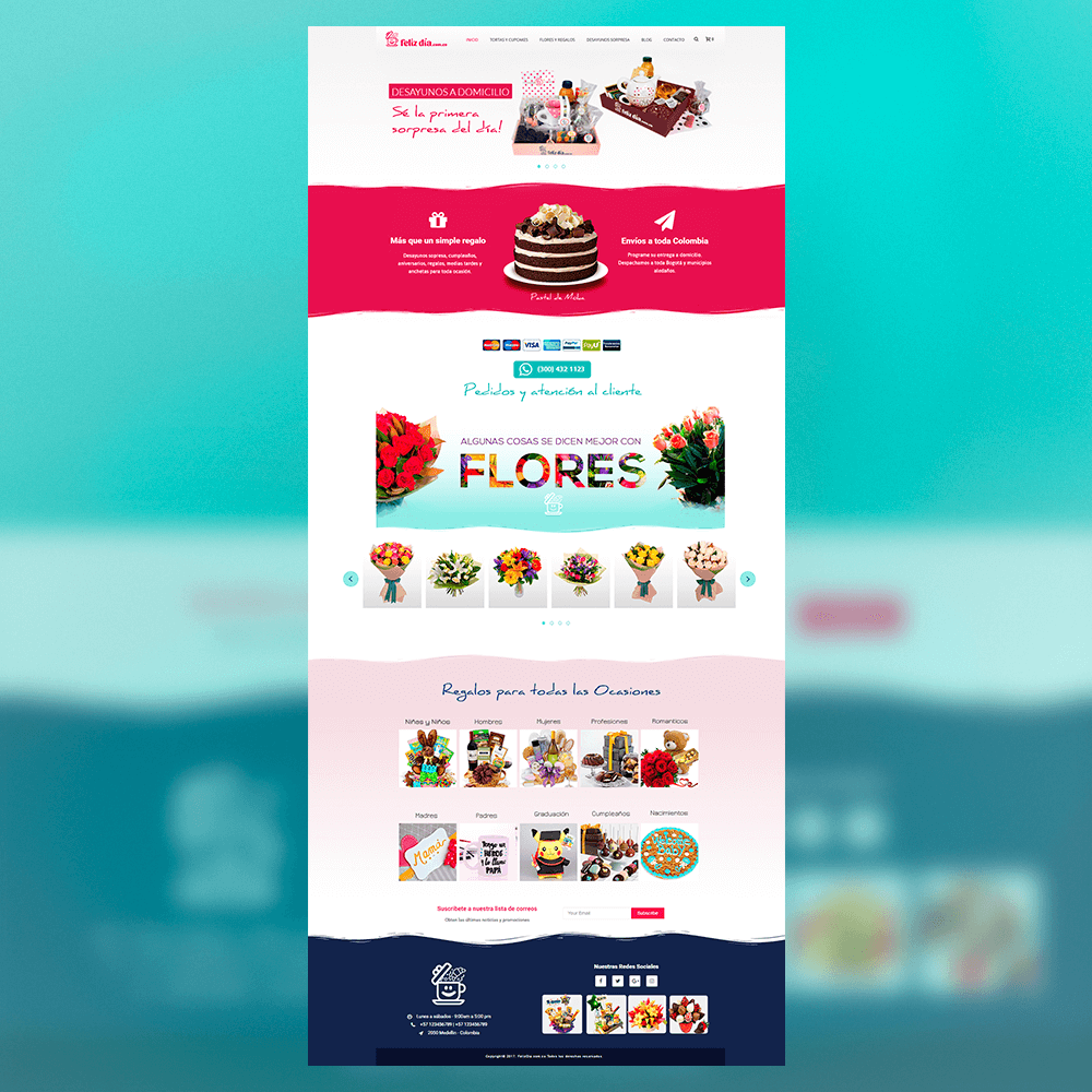 Template - Full Mockup Website Design