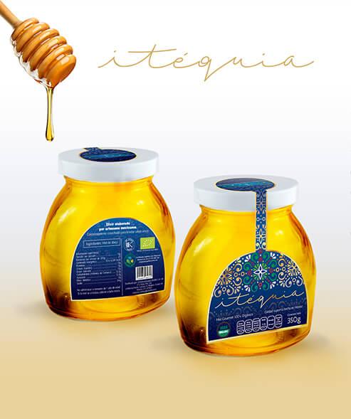 Etiqueta Miel Orgánica Itequia