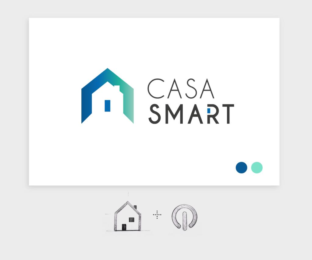 CasaSmart - Identidad Visual corporativa