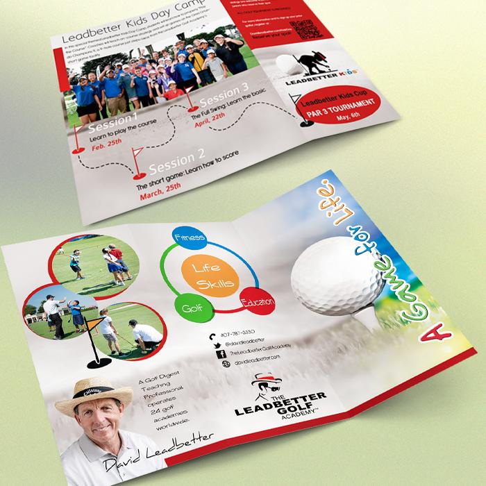 Leadbetter Golf Academy - Trifold