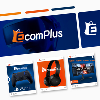 Ecomplus Chile - Logotipo - Identidad Visual
