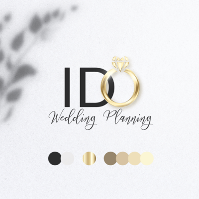I DO Wedding Planning - Logo - identidad visual